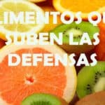 alimentos defensas