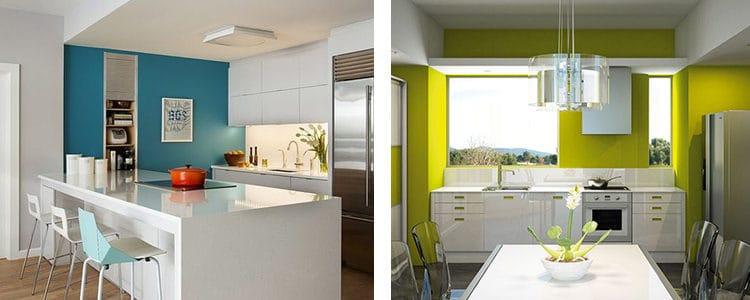 Colores Adecuados Para Pintar La Cocina Aua2014 - Colores-de-cocina
