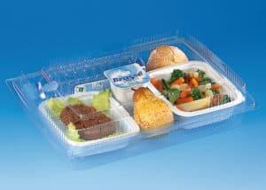 hospital comida plastico