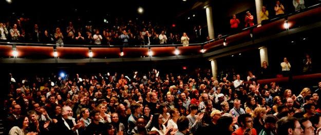 el publico en un monologo