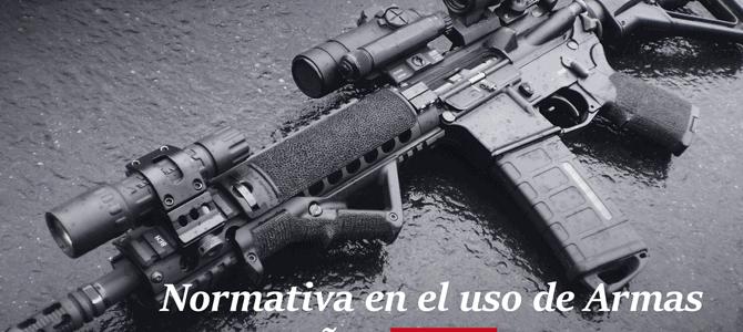 normativa de uso de armas en espana