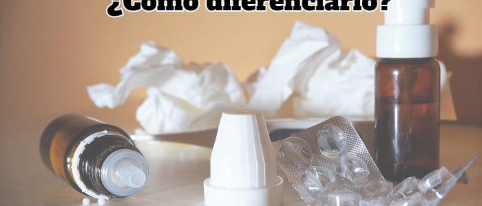 diferenciar rinitis alergica del resfriado