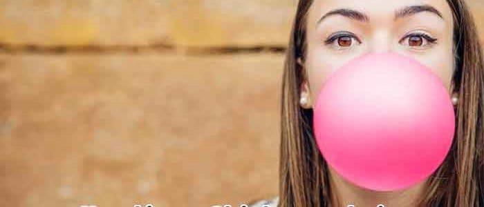 ventajas y desventajas de masticar chicle